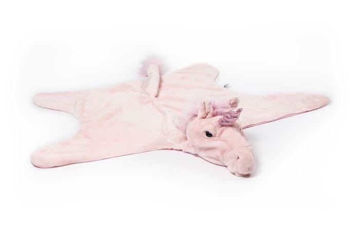 Wild & Soft   動物造型披風-粉紅獨角獸