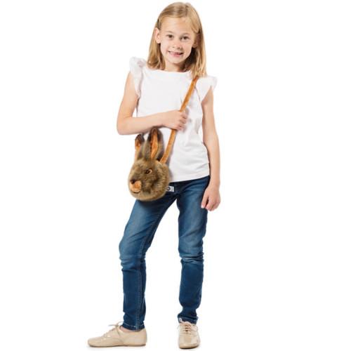 Wild & Soft | 動物玩偶斜背包-兔子