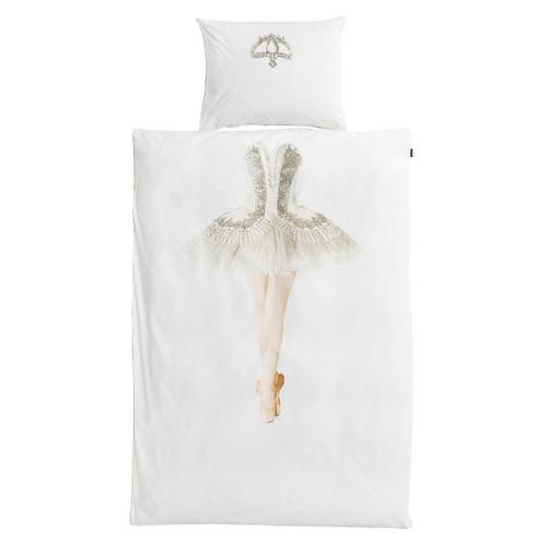 SNURK|夢幻公主系列-芭蕾舞伶 枕套+被套組