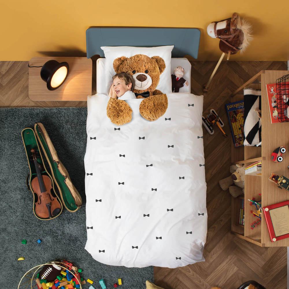 SNURK | 童趣幻想系列-泰迪  枕套+被套組