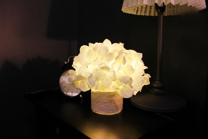 【集購】韓國 Via K Studio | LED不凋花夜燈-繡球花系列