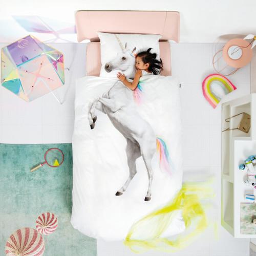 SNURK|夢幻公主系列-獨角獸之夢 枕套+被套組