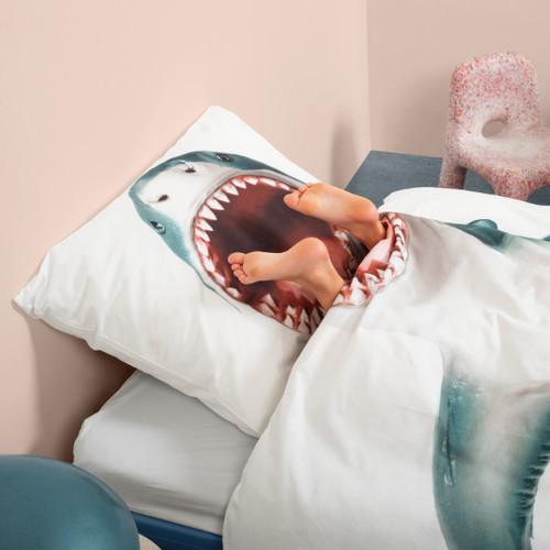 SNURK|童趣幻想系列 -是鯊魚! 枕套+被套組