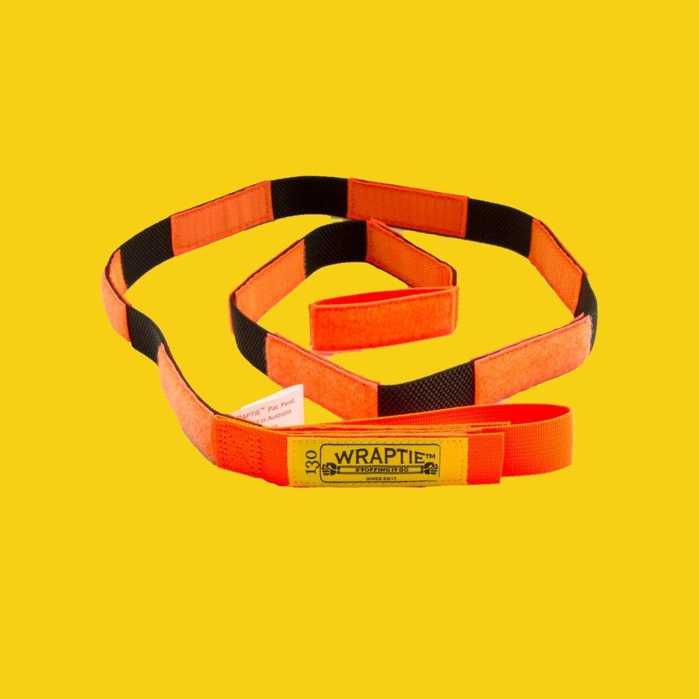 【集購】澳洲 WRAPTIE™ | 多用途可伸縮專利束帶 (130cm雙入組)