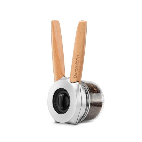 【集購】Dreamfarm | Ortwo單手可使用香料研磨罐(櫸木款)