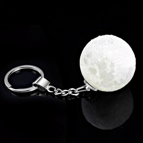 Coocepts Moon Lights   3D月球 LED鑰匙圈 (2入組)