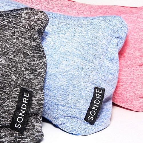 Sondre | 旅行眼罩舒適枕 (深夜黑)