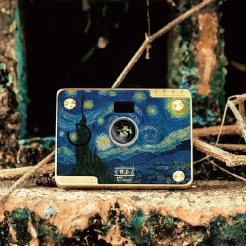 【集購】原質東隅 Hylé design | CROZ D.I.Y 數位相機-梵谷聯名星空款-限量25組