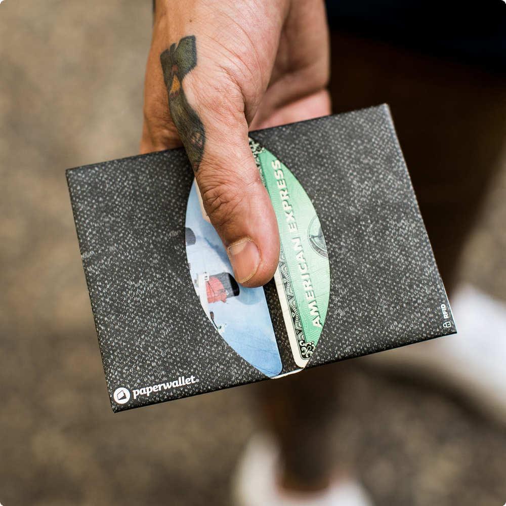 【集購】美國Paper wallet | 超薄RFID防盜 環保皮夾 (六色可選)