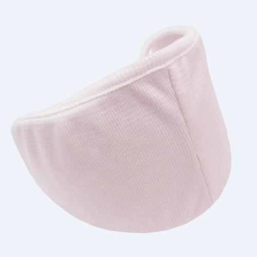 日本 La Sois   睡眠專用絲綢口罩 粉色