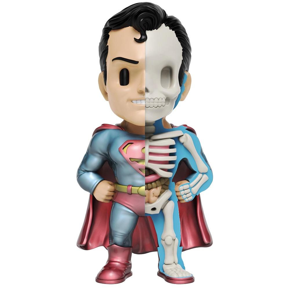 XXRAY PLUS | 原廠授權 DC超人 半剖公仔 (25.5cm 金屬限定版)