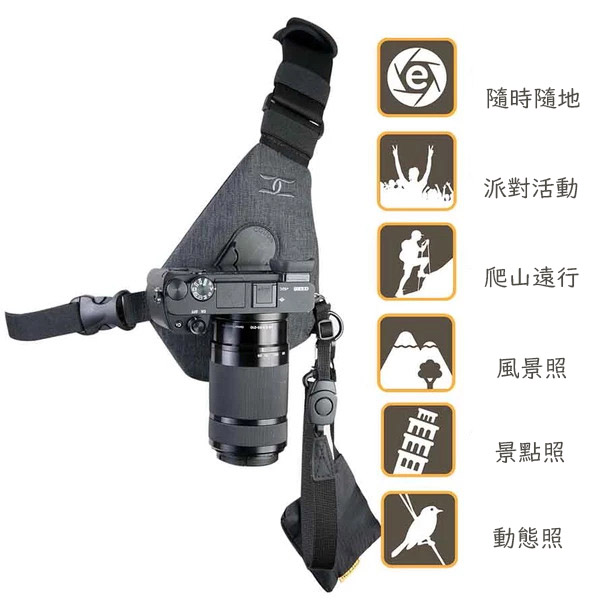 【集購】美國Cotton Carrier|SKOUT相機快取胸背帶