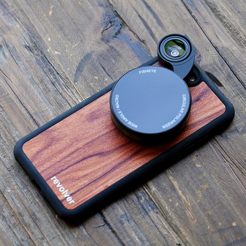 ZTYLUS | REVOLVER M4 iPhone 磁吸鏡頭手機殼組-官方授權(iPhoneX&XS質感木紋)