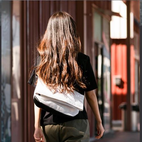 WOHLBEGE | 城市穿梭系列 x 超輕量防水單肩包(三色任選)