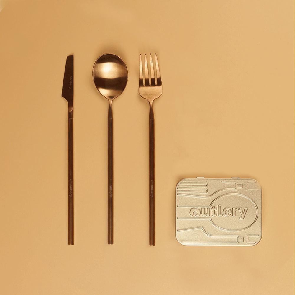 【集購】Outlery|最小口袋餐具-五色任選(嘖嘖募資破千萬)