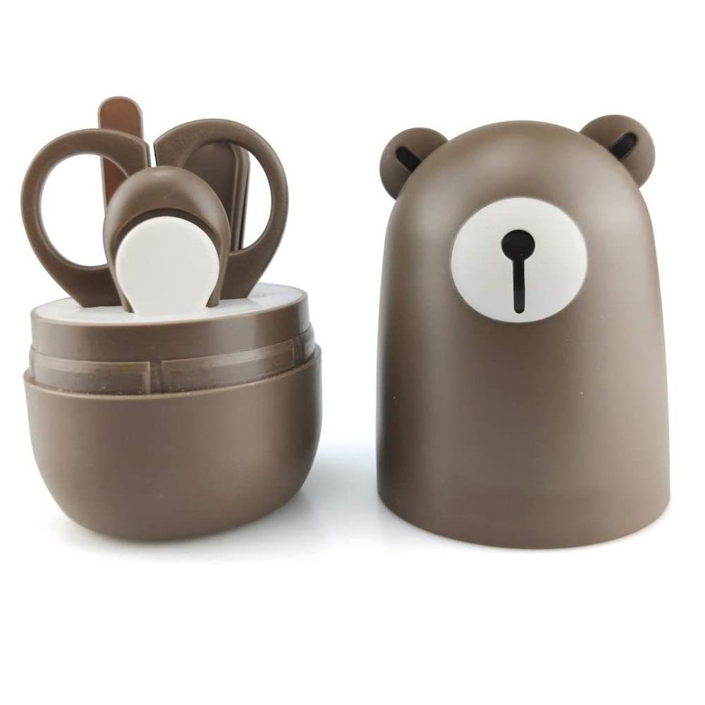 【集購】DeTI   嬰兒安全指甲剪四件組(兩入款式任選)