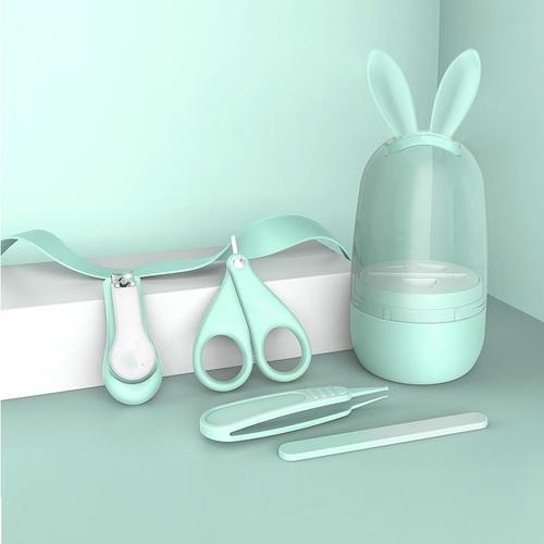 DeTI | 嬰兒安全指甲剪四件組(三款任選)