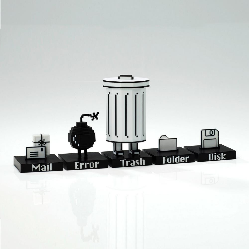 【四四南村】Playsometoys | 垃圾桶與小伙伴公仔Trashbot & Friends
