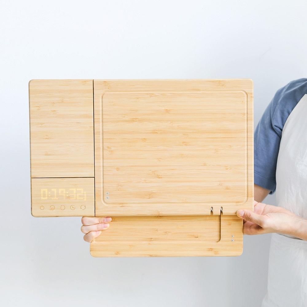 ChopBox|全球首創 5合1 智慧殺菌竹砧板