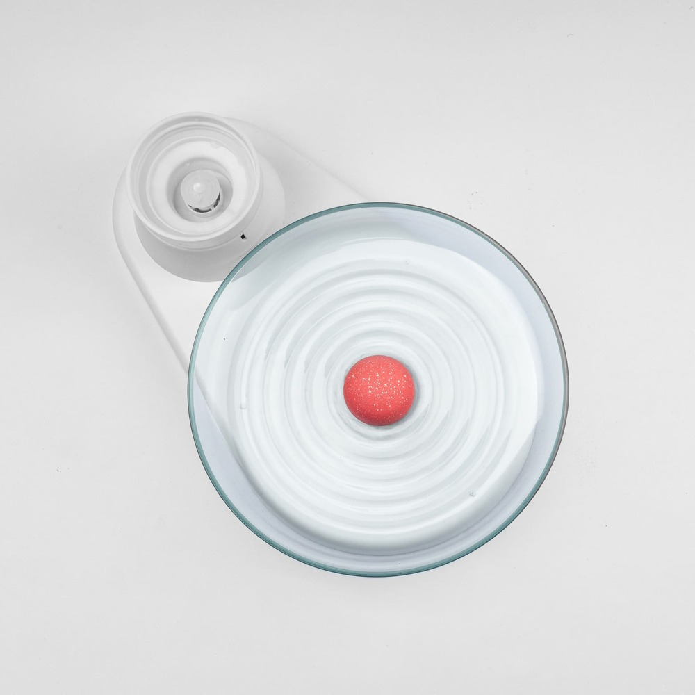 KittySpring|貓主子飲水器- GLASS純淨透亮款