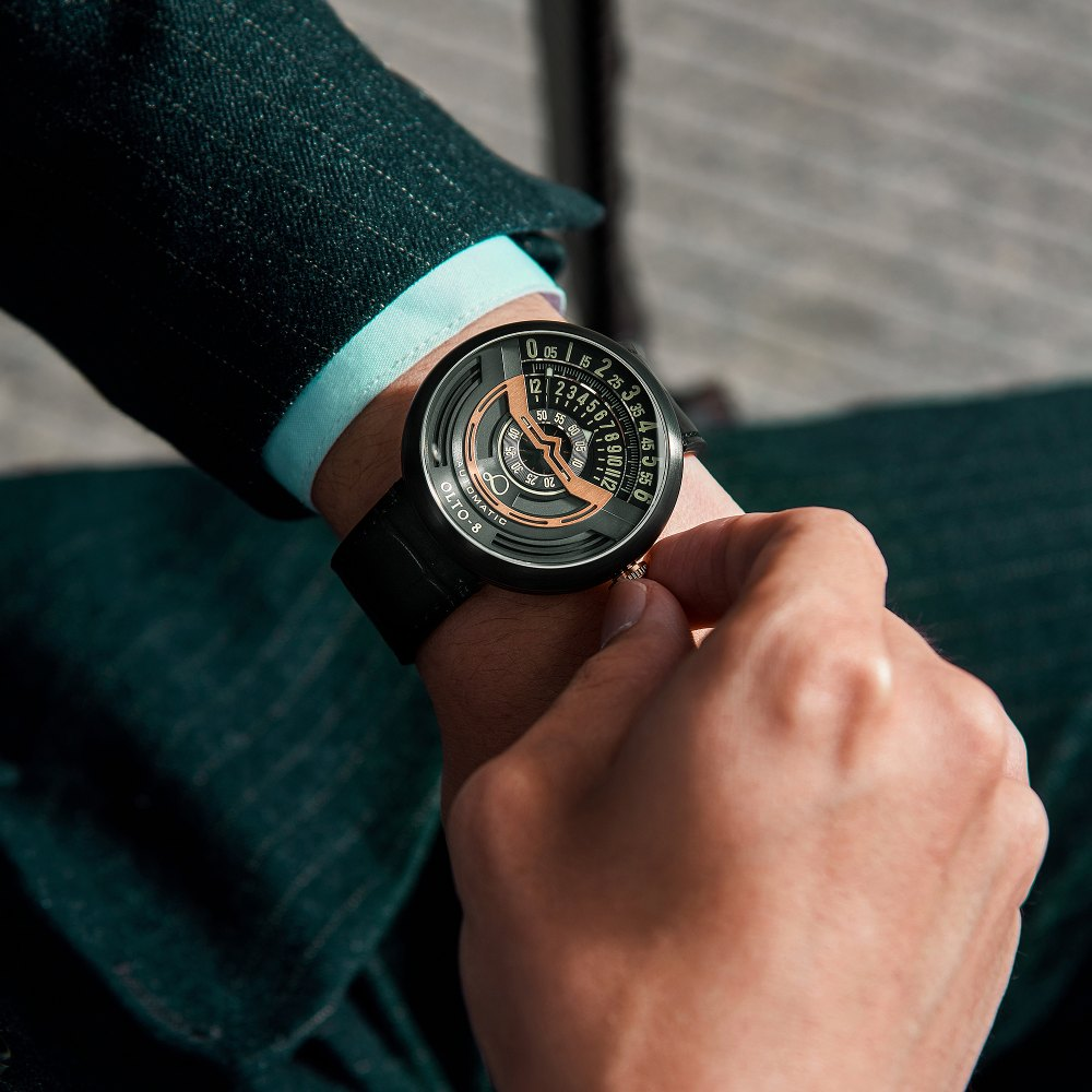 【集購】OLTO-8|INFINITY 奧陀8號 永恆機械錶(不鏽鋼錶殼)