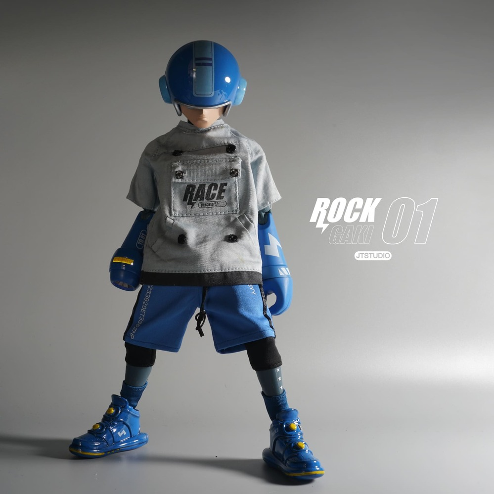 JT STUDIO|ROCK GAKI - 賽道日 DAY 01 1/6 比例 可動人偶