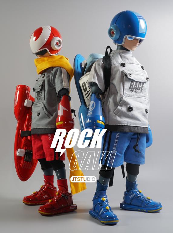 JT STUDIO ROCK GAKI - 賽道日夜 可動人偶雙人組 (12吋)