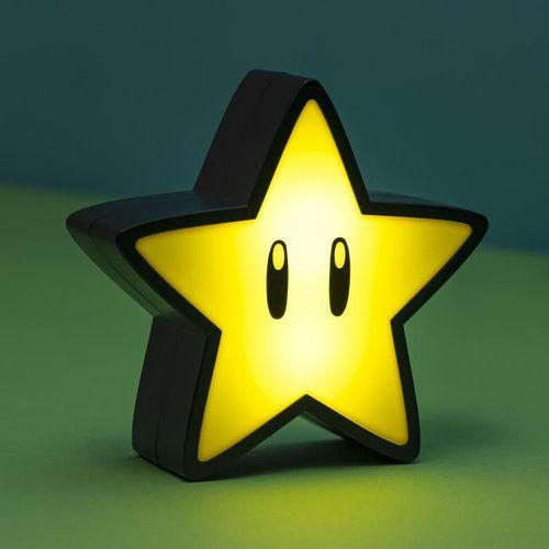 Paladone|Super Star Light with Sound 瑪利歐無敵星小夜燈