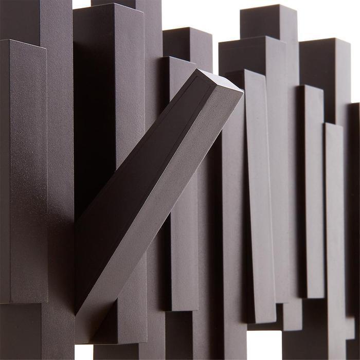 Umbra | STICKS 琴鍵造型牆上掛勾 深咖啡色
