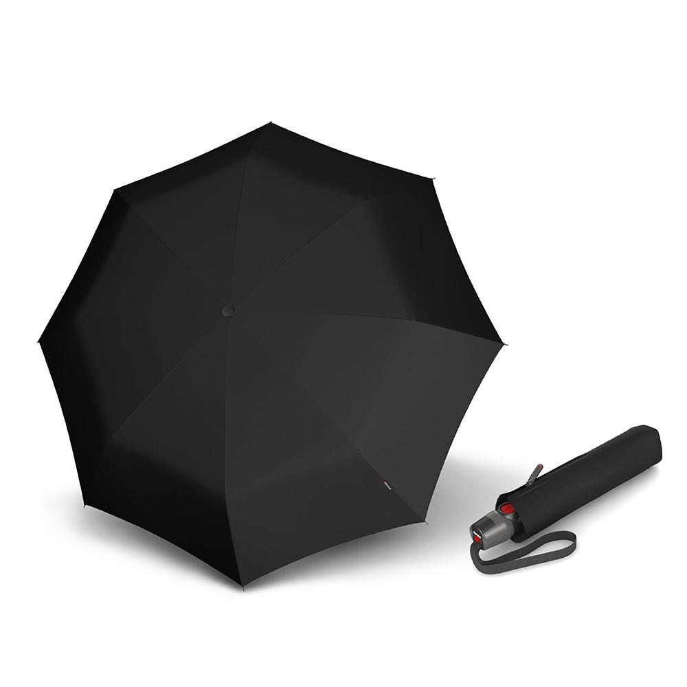 Knirps德國紅點傘|T200 經典自動開收傘-Black