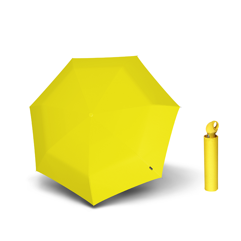 Knirps德國紅點傘 Floyd 超輕三折自動傘 -Yellow
