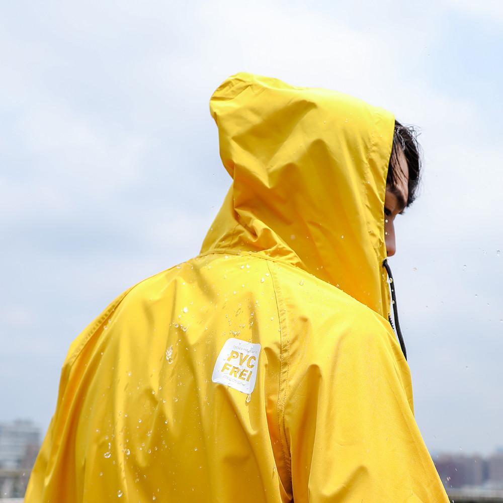 MECOVER|全能速乾風雨衣(籐黃)