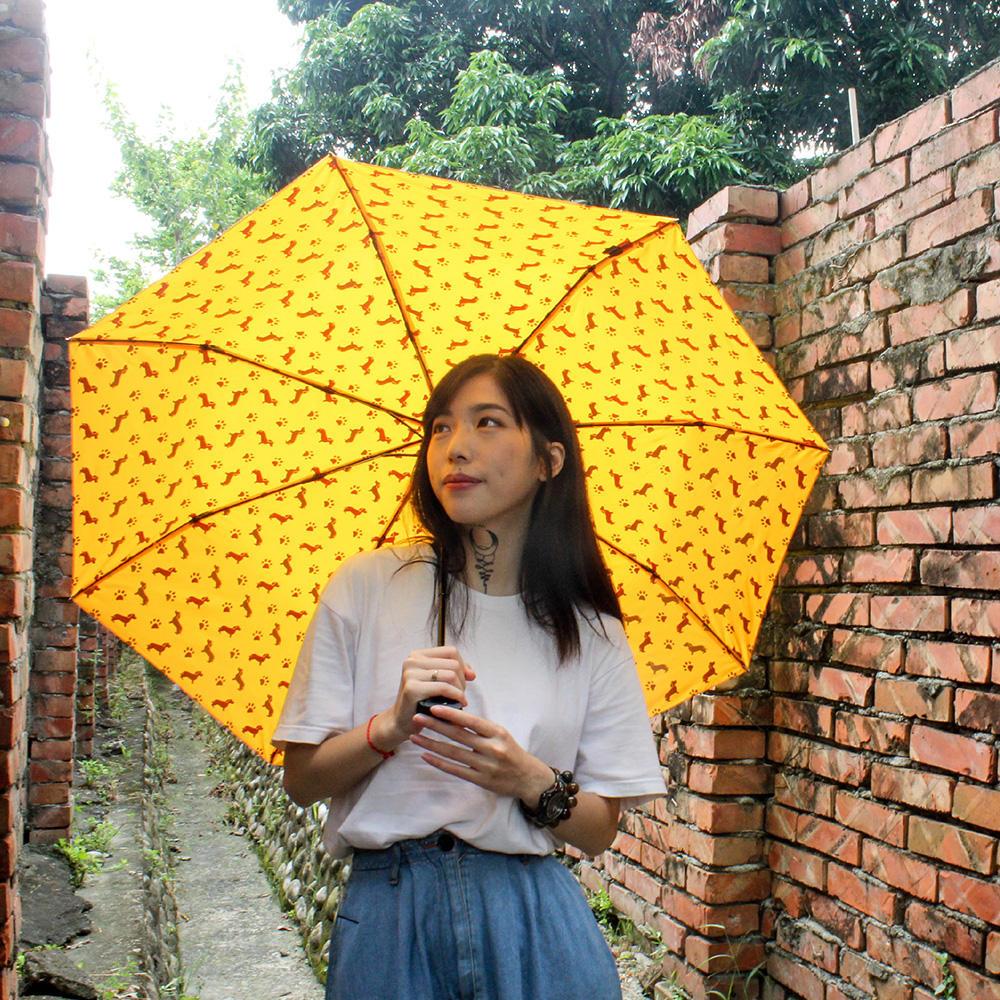 【2入組】Make Shine|ClipGo 2.0 可立扣輕量無縫自動傘