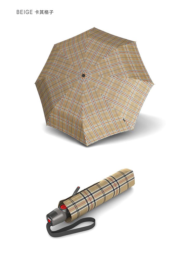 (複製)Knirps德國紅點傘|T200 經典自動開收傘-Black