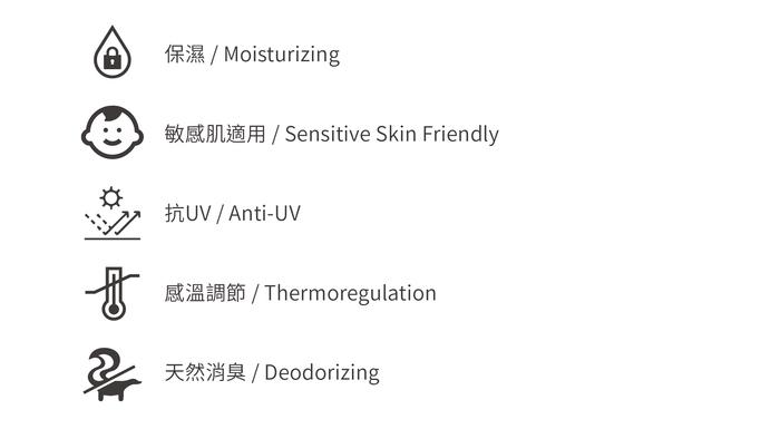 膠原蛋白胜肽美膚絲巾 - 天然植物染 - 茜草粉