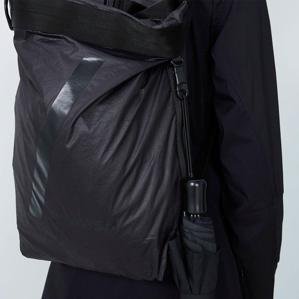 WEAVISM織本主義|背後零 - 空間可調整後背包(黑)