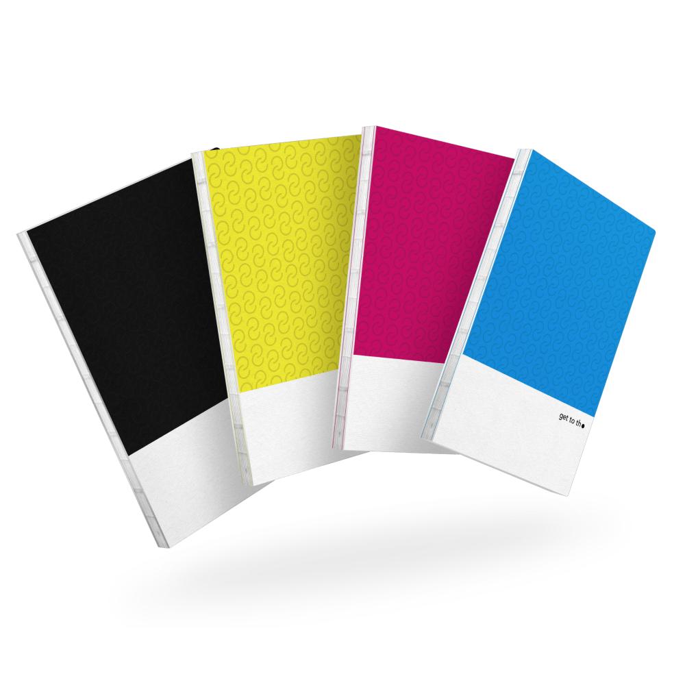 Interrobang Design|get to the point - Idea Sketchbook (CMYK組)