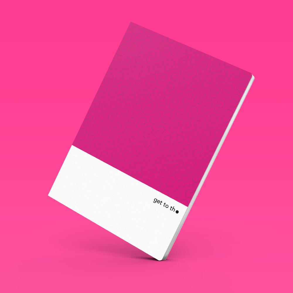 Interrobang Design|get to the point - Idea Sketchbook (M-品紅)