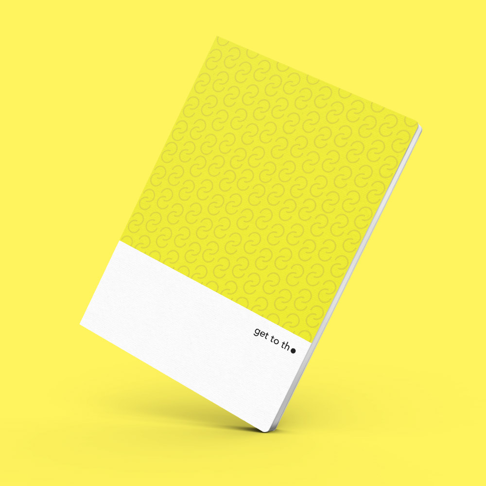 Interrobang Design|get to the point - Idea Sketchbook (Y-黃)