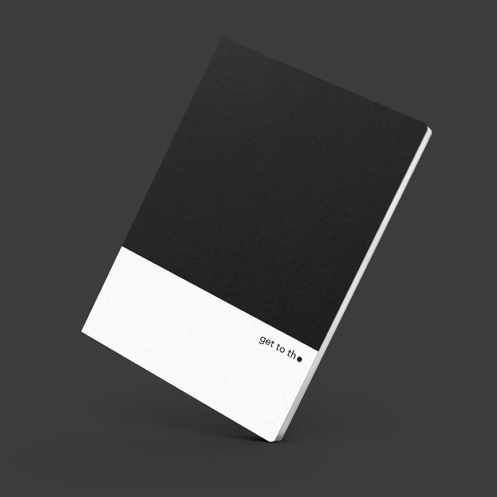 Interrobang Design|get to the point - Idea Sketchbook (K-黑)