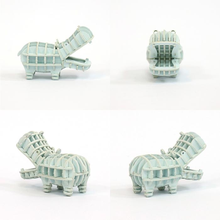 (複製)Team Green|3D紙拼圖 犀牛