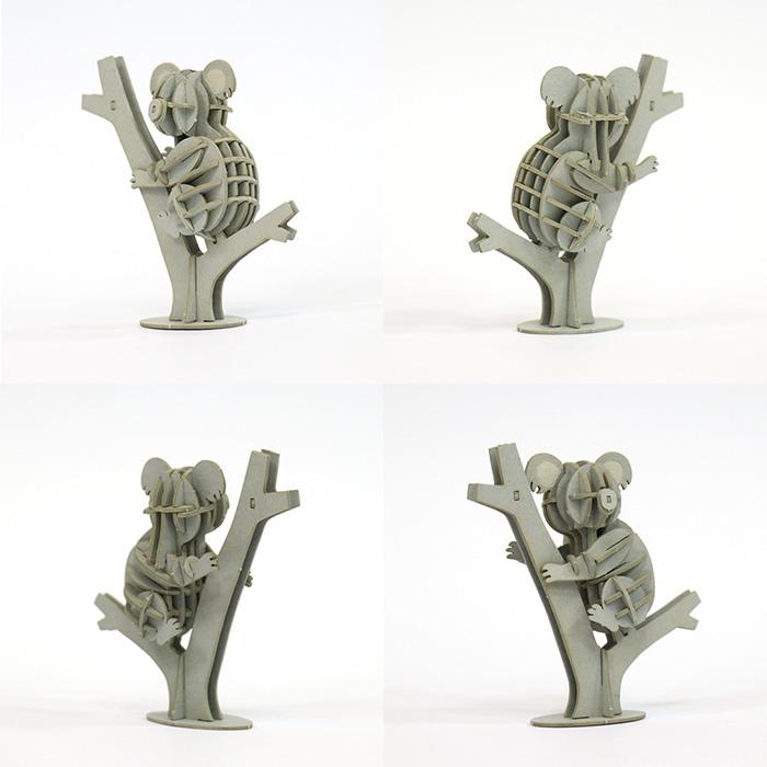 (複製)Team Green|3D紙拼圖 熊貓