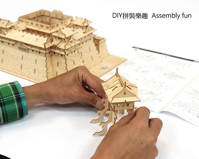 (複製)Team Green|3D木拼圖 鋼琴儲物盒
