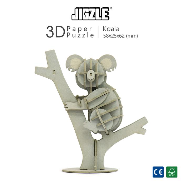 Team Green|3D紙拼圖 無尾熊