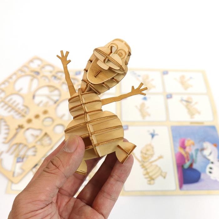 (複製)JIGZLE|3D木拼圖 雷神之錘