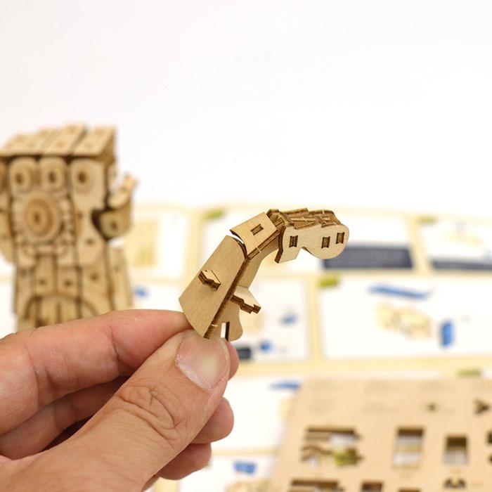 (複製)JIGZLE|3D木拼圖 冰雪奇緣-雪寶