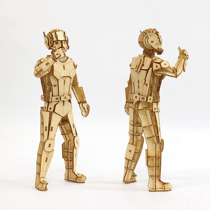 (複製)JIGZLE|3D木拼圖 閃電麥昆
