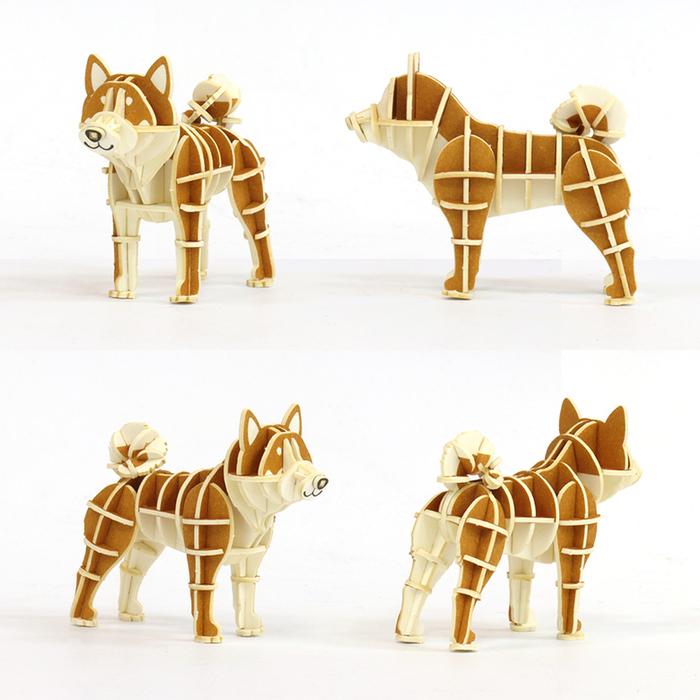 (複製)JIGZLE|3D紙拼圖 貓頭鷹