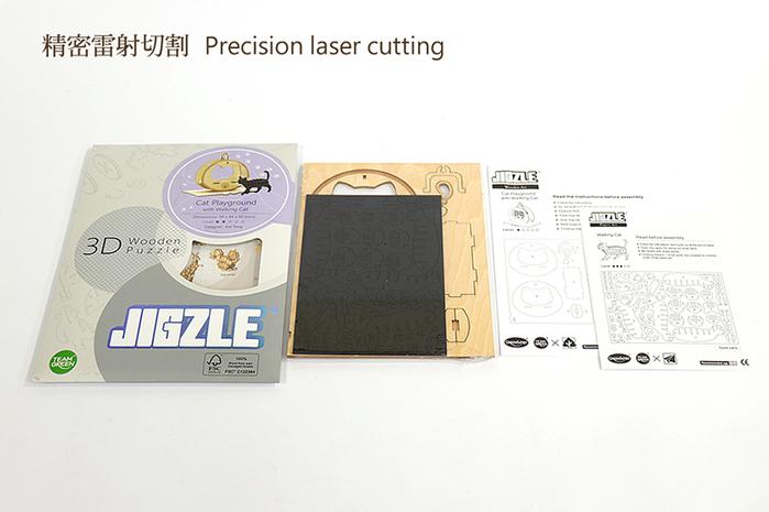 (複製)JIGZLE|3D木拼圖 柴犬