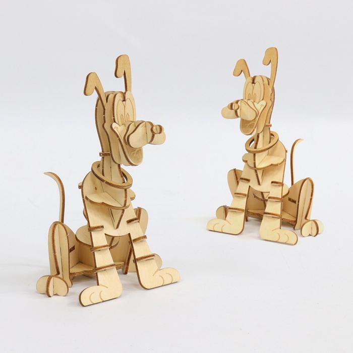 JIGZLE  3D-木拼圖-迪斯尼系列-布魯托